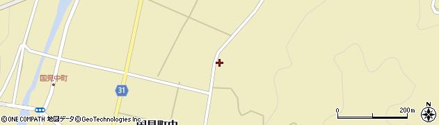 大分県国東市国見町中496周辺の地図