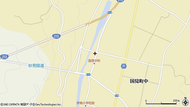 大分県国東市国見町中1070周辺の地図