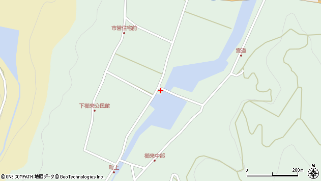 大分県国東市国見町櫛来117周辺の地図
