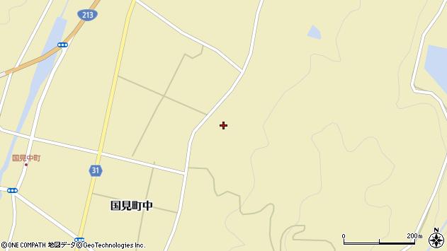 大分県国東市国見町中554周辺の地図