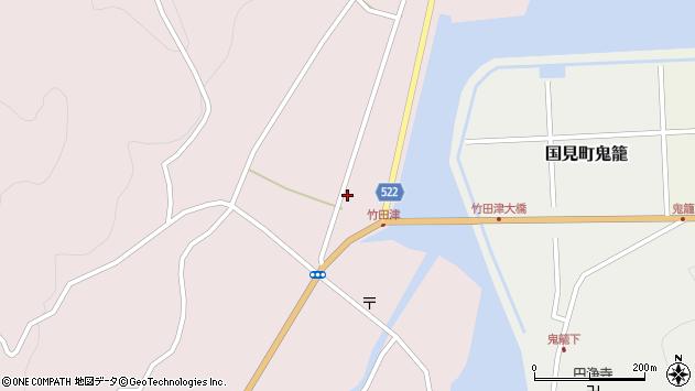 大分県国東市国見町竹田津3725周辺の地図