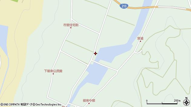 大分県国東市国見町櫛来134周辺の地図