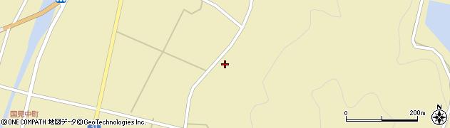 大分県国東市国見町中558周辺の地図