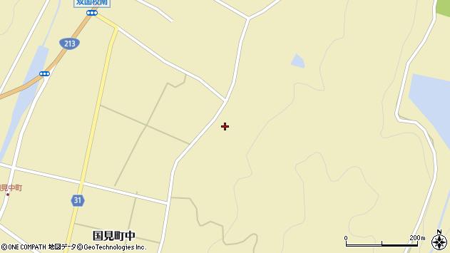 大分県国東市国見町中563周辺の地図