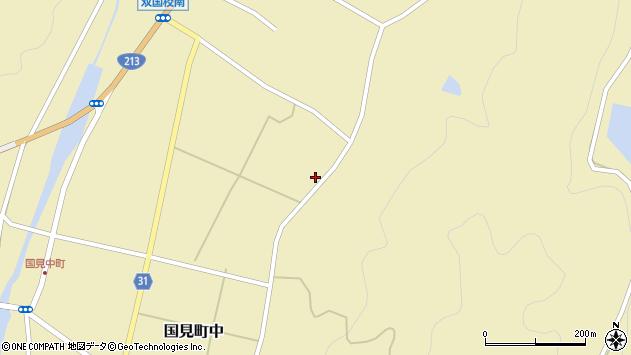 大分県国東市国見町中734周辺の地図