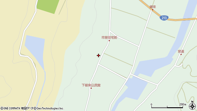 大分県国東市国見町櫛来289周辺の地図