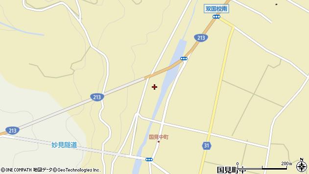 大分県国東市国見町中1468周辺の地図