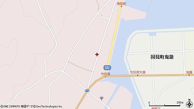 大分県国東市国見町竹田津3741周辺の地図