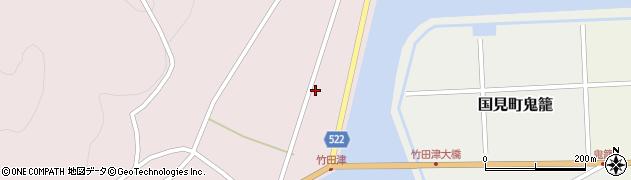 大分県国東市国見町竹田津3744周辺の地図