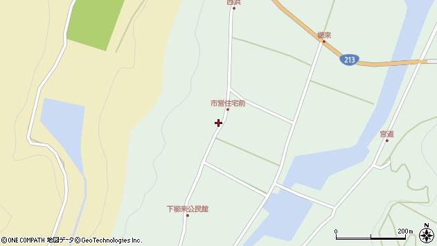 大分県国東市国見町櫛来262周辺の地図
