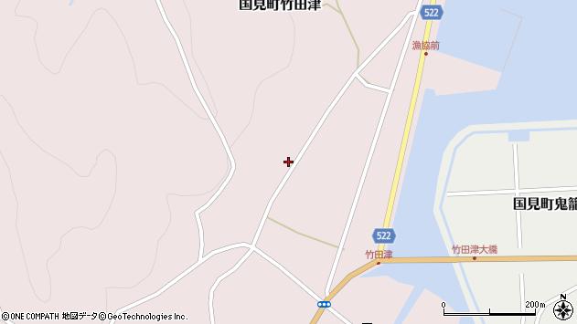 大分県国東市国見町竹田津4368周辺の地図