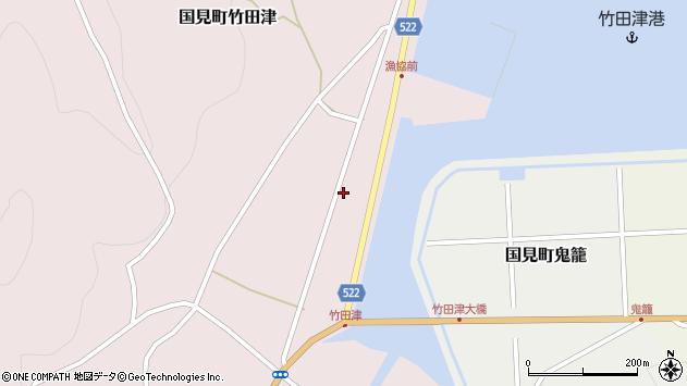 大分県国東市国見町竹田津3759周辺の地図