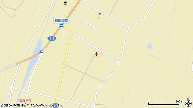 大分県国東市国見町中1327周辺の地図