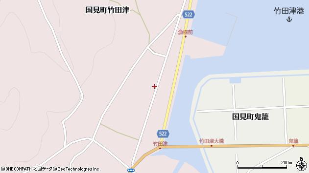 大分県国東市国見町竹田津3751周辺の地図