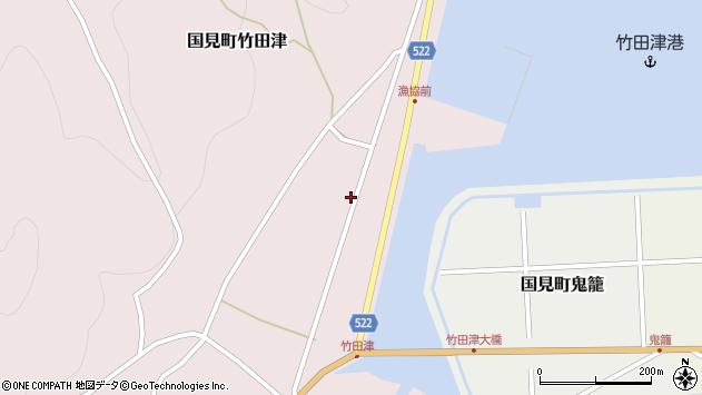 大分県国東市国見町竹田津3830周辺の地図