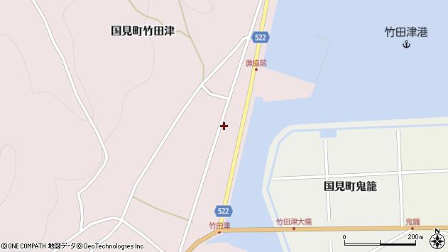 大分県国東市国見町竹田津3833周辺の地図