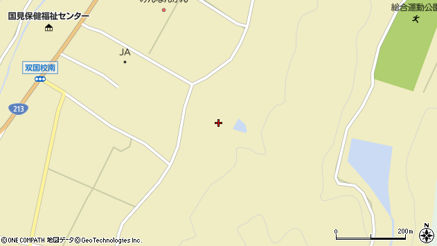 大分県国東市国見町中3100周辺の地図