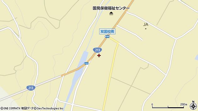大分県国東市国見町中1283周辺の地図