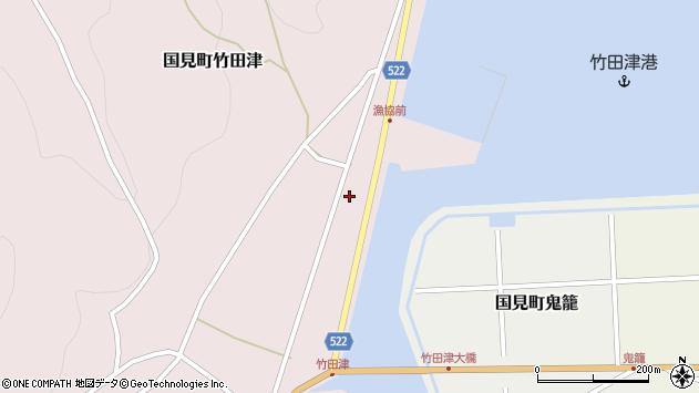 大分県国東市国見町竹田津3835周辺の地図