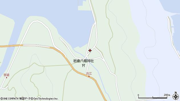 大分県国東市国見町櫛来周辺の地図
