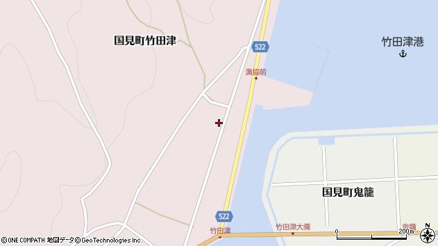 大分県国東市国見町竹田津3837周辺の地図