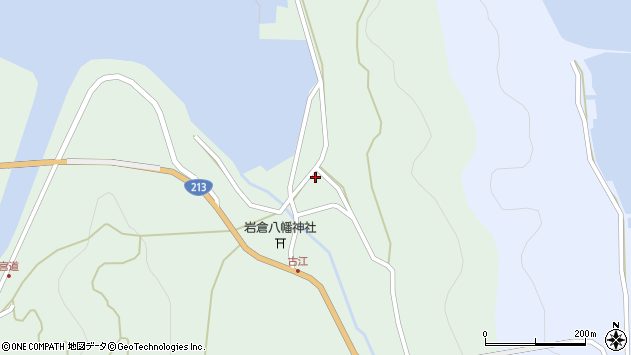 大分県国東市国見町櫛来4313周辺の地図