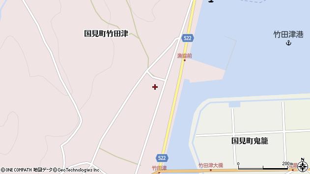 大分県国東市国見町竹田津3851周辺の地図