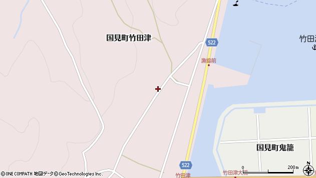 大分県国東市国見町竹田津4335周辺の地図