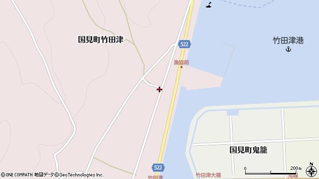 大分県国東市国見町竹田津3861周辺の地図