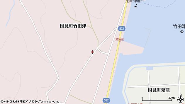 大分県国東市国見町竹田津4297周辺の地図