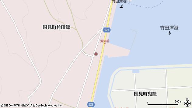 大分県国東市国見町竹田津3867周辺の地図