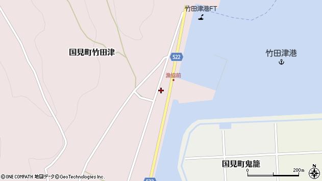大分県国東市国見町竹田津3890周辺の地図