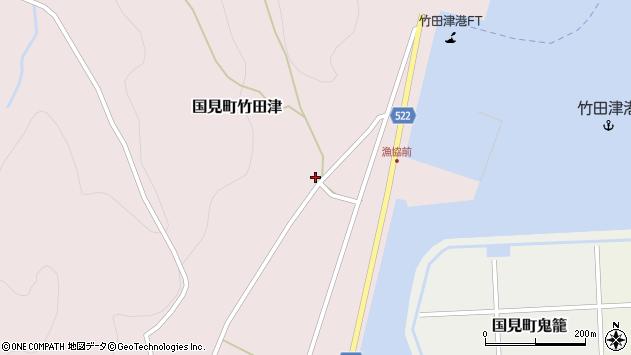 大分県国東市国見町竹田津4294周辺の地図
