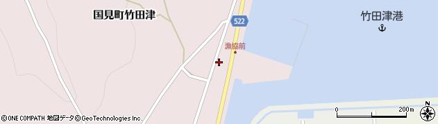 大分県国東市国見町竹田津3893周辺の地図