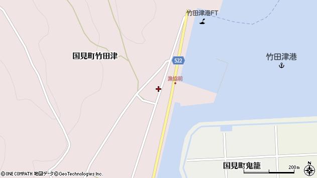 大分県国東市国見町竹田津3894周辺の地図