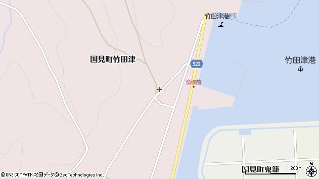 大分県国東市国見町竹田津4013周辺の地図