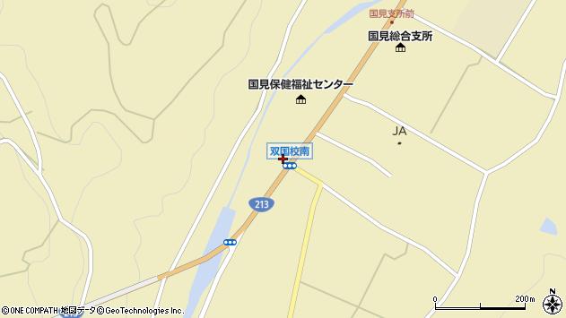 大分県国東市国見町中1403周辺の地図