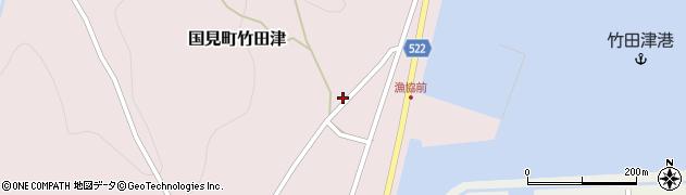 大分県国東市国見町竹田津4011周辺の地図