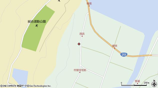 大分県国東市国見町櫛来241周辺の地図