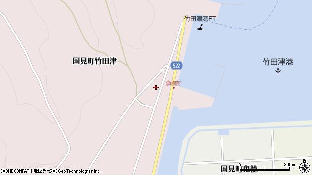 大分県国東市国見町竹田津3897周辺の地図