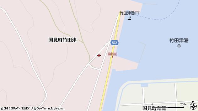 大分県国東市国見町竹田津3896周辺の地図