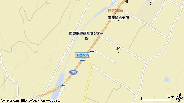 大分県国東市国見町中1380周辺の地図