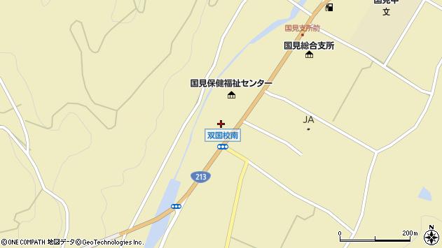 大分県国東市国見町中1399周辺の地図