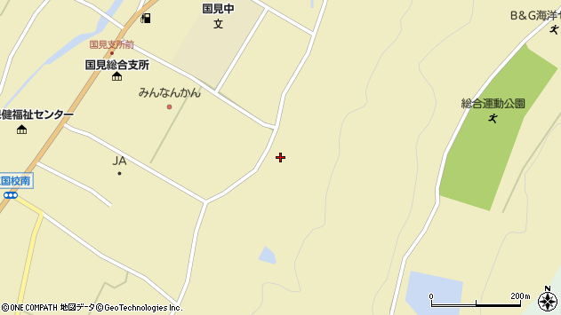 大分県国東市国見町伊美3257周辺の地図