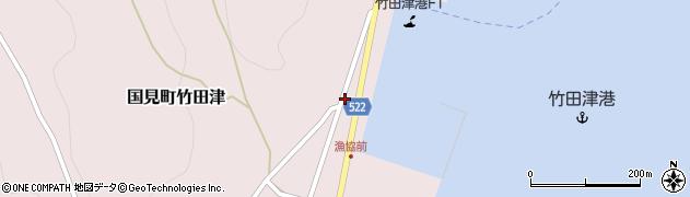 大分県国東市国見町竹田津3920周辺の地図