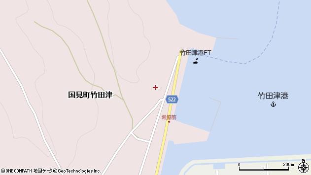 大分県国東市国見町竹田津3996周辺の地図