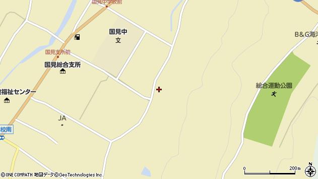 大分県国東市国見町伊美3277周辺の地図