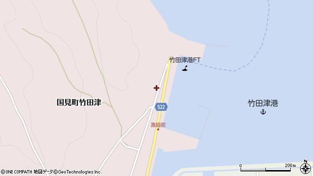 大分県国東市国見町竹田津3927周辺の地図
