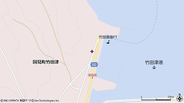 大分県国東市国見町竹田津3931周辺の地図