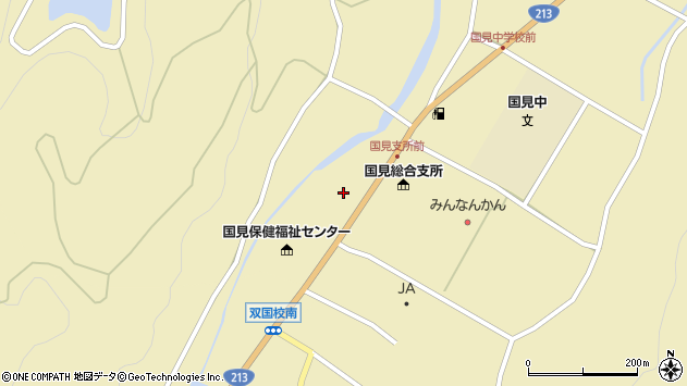 大分県国東市国見町伊美2299周辺の地図